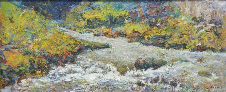 anton gulich ukraine artist artzebs tuapce mountain river